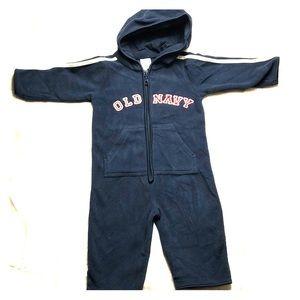 💥5/$25 SALE! Old a navy fleece bodysuit 6-12m